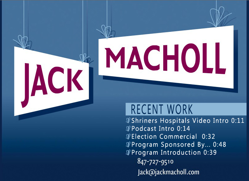 Jack Macholl Voiceover - select an option